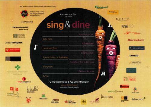 sing&dine